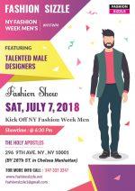"New York Fashion Week Men ""FashionSizzle"" Fashion Show"