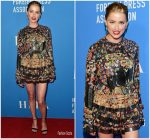 Amber Heard  In Saint Laurent @ HFPA Grants Banquet 2018