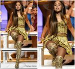Ariana Grande In Diana Couture  Performing  @ 2018 MTV Video Music  Awards