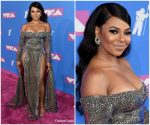 Ashanti  In Elie Madi  @ 2018 MTV Video Music Awards