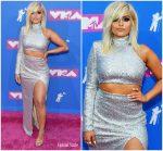 Bebe Rexha In Christian Siriano  @  2018 MTV VMAs