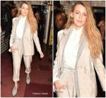 Blake Lively In Brunello Cucinelli   Leaving  @ 2018 MTV VMAs