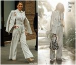 Blake Lively In Zimmermann  @ 'A Simple Favor' New York Promo Tour