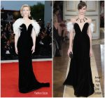 Cate Blanchett In Armani Privé  @  'A Star Is Born' Venice Film Festival Premiere