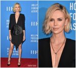 Charlize Theron In Givenchy  @ Hollywood Foreign Press Association's Grants Banquet