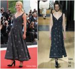 Clemence Poesy In Erdem  @ 'First Man' Venice Film Festival Premiere & Opening Ceremony