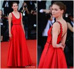 Hannah Gross In Prada  @ 'The Mountain' Venice Film Festival  Premiere