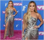 Jennifer Lopez In Versace  @ 2018 MTV VMAs