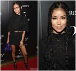 Jhene Aiko  In Versace  @ Christie's x What Goes Around Comes Around 25th Anniversary Auction Preview