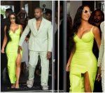 Kim Kardashian  In Atsukov Kudov  @ 2 Chainz's  Wedding