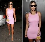 Kim Kardashian In Versace @ Christie's x What Goes Around Comes Around 25th Anniversary Auction Preview