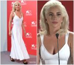 Lady Gaga In Azzedine Alaïa  @ 'A Star Is Born' Venice Film Festival Photocall