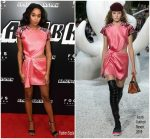 Laura Harrier in Louis Vuitton @ 'BlacKkKlansman' New York Premiere