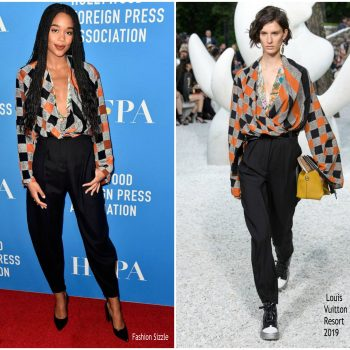 laura-harrier-in-louis-vuitton-hollywood-foreign-press-association-grants-banguet