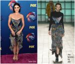 Lucy Hale In Mary Katrantzou  @ 2018 Teen Choice Awards