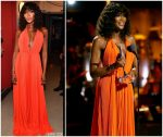 Naomi Campbell  In   Calvin Klein @ 2018 Black Girls Rock Awards