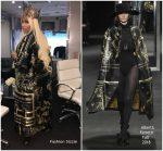 Nicki Minaj In Alberta Ferretti – Instagram Pic