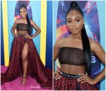Normani Kordei  In Tommy Hilfiger @ 2018 Teen Choice Awards