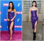 Olivia Munn In David Koma  @ 2018 MTV VMAs