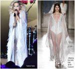 Rita Ora In Alberta Ferretti Couture  @ Unicef Summer Gala