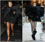 Rita Ora In Alexandre Vauthier  Haute Couture  @ Jennifer Lopez's MTV VMA's Vanguard Award Celebration After-Party