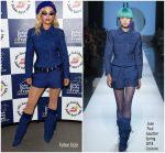 Rita Ora In Jean Paul Gaultier Haute Couture  @ Ascot Racecourse