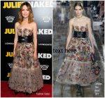 Rose Byrne In Christian Dior  @ 'Juliet, Naked' New York Premiere