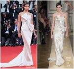 Sara Sampaio In Armani Privé  @ 'First Man' Venice Film Festival Premiere & Opening Ceremony