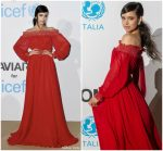 Sofia Carson In Giambattista Valli  @ Unicef Summer Gala