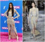 Winnie Harlow  In Zuhair Murad  @ 2018 MTV Video Music Awards