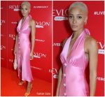 Adwoa Aboah in Miu Miu @ Revlon's 'Live Boldly' Party