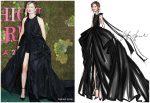 Alba Rohrwacher In Valentino Haute Couture @  Green Carpet Fashion Awards Italia 2018