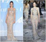 Alessandra Ambrosio  In Zuhair Murad  Couture @ 2018 Monte Carlo Global Ocean Gala