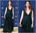 Amanda Peet  In Michael Kors  @ 2018 Emmy Awards
