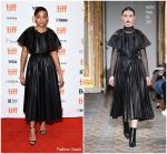 "Amandla Stenberg  In Huishan Zhang  @ ""Where Hands Touch"" Toronto International Film Festival Premiere"