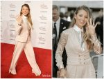 Blake Lively In Ralph Lauren Collection  @ 'A Simple' Favor' London Premiere