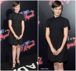 Cailee Spaeny in Valentino @ 'Bad Times at the El Royale' LA Premiere
