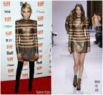 Cara Delevingne  In   Balmain  @ Her Smell  Toronto International Film Festival Premiere