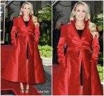 Carrie Underwood In John Paul Ataker & Isabella Oliver @  Star On The Hollywood Walk Of Fame Unveiling