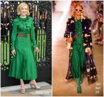 Cate Blanchett In Gucci  @ 'The House With The Clock In Its Walls' World Premiere