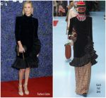 Charlize Theron In Gucci  @ Caruso's Palisades Village Opening Gala