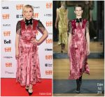 Chloe Grace Moretz In Erdem  @'Greta' Toronto International Film Festival Premiere
