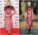 Chloe Grace Moretz In Erdem  @ 'Greta' Toronto International Film Festival Premiere