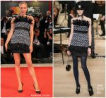 Chloe Sevigny In Chanel  @ 'At Eternity's Gate' Venice Film Festival Premiere