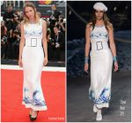 Christa Theret  In Chanel @ Doubles Vies (Non Fiction) Venice Film Festival Premiere
