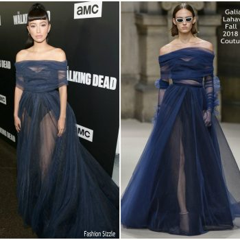 christian-serratos-in-galia-lahav-the-walking-dead- season-9-premiere