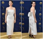 Claire Foy  In Calvin Klein By Appointment  @ 2018 Emmy Awards.