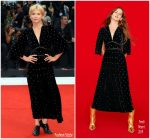 Clemence Poesy In Fendi  @ 'A Star Is Born' Venice Film Festival Premiere