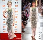 Elizabeth Debicki  In Schiaparelli  @ 2018 Toronto International Film Festival