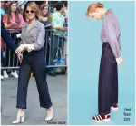 Emma Stone In Fendi  @ Good Morning America
